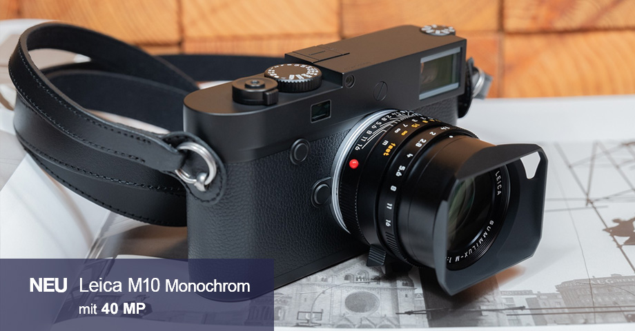 Leica M10 Monochrom mit 40MP